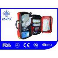China DIN 13155 First Aid Oxygen Kit , Portable Emergency Oxygen Kit For Ambulance on sale