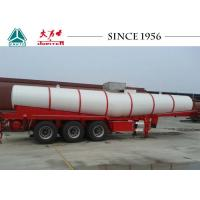 Wholesale Sulphuric Chemical Tanker Trailer , 21000 Liters Stainless Steel Chemical Tankers from china suppliers