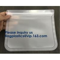 Wholesale PEVA Snack Food Packaging Custom Printing Logo Reusable PEVA Food Sandwich Storage Bag,Vaccum Bag For Food from china suppliers
