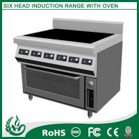 China Free Standing Electric Range With 6 Burner on sale