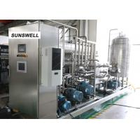Buy cheap Sunswell Efficient energy saving 15C filling carbonated drink filling machine from wholesalers