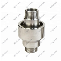Buy cheap Stainless steel high pressure rotary joint for hydraulic oil and water BSP from wholesalers