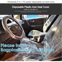 Wholesale Biodegradable Compost Car Floor Mat Auto Disposable Steering Wheel Seat Cover Interior Accessories Steering Tire Bags from china suppliers