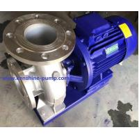 Wholesale ISWH Stainless steel horizontal centrifugal pump from china suppliers