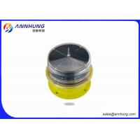 Wholesale LED Solar Red Obstruction Light , 10cd Low Intensity Aircraft Warning Light IP68 from china suppliers