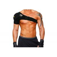 Wholesale Athletic Shoulder Compression Brace With Pressure Pad Breathable Shoulder Support Strap Black from china suppliers