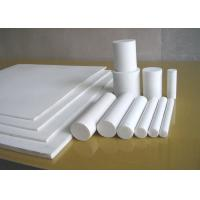 China Moulded Or Skived PTFE Sheet , Anti Corrosion PTFE Plastic Sheet For Seal / Gasket on sale