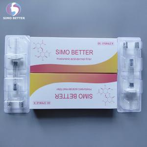 China Cross Linked Face Beauty Filler Hyaluronic Acid Dermal Filler 2.0ml , CE Approved on sale