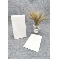 Wholesale White Oil Proof Paper Bags For Food Packaging / Recyclable Paper Takeaway Bags from china suppliers