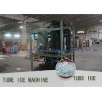 China Crystal , Edible Ice Tube Making Machine With Stainless Steel 304 Evaporator on sale