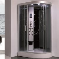 Wholesale All In One Shower Stall P Shaped Shower Enclosure With Sitting Tub Sanitary Ware from china suppliers