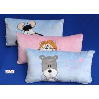 Wholesale 100% Cotton Fabric Blue and Pink Cartoon Plain Custom Decorative Pillows for Bed from china suppliers