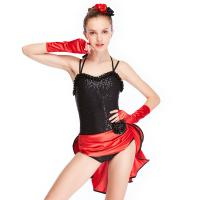 Wholesale MiDee Dance Costume Latin Dress For Women Sweetheart Camisole Sequins from china suppliers