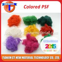 Wholesale Colored Recycled Polyester Staple Fiber, Dope Dyed RPSF for Nonwoven / Spinning 1.5D-15D from china suppliers