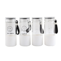 Wholesale Cadmium Free 600ml Glass Water Drinking Bottles from china suppliers