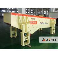 Wholesale Even / Continuous Vibrating Feeder Machine for Quarry Mine , 120-210t/h Capacity from china suppliers