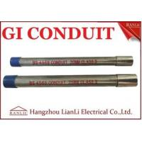 China Class 4 25mm GI Conduit Class 4 Galvanised Electrical Conduit For Project Directly on sale