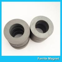 Wholesale Hard Ferrite Industrial Strength / Durable Round Ceramic Magnets from china suppliers