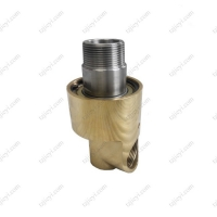 Wholesale 1-1/2'' BSP thread high quality high speed rotary union for cooling water, hydraulic oil, air from china suppliers