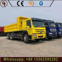 Wholesale Howo 35 Tons Capacity Diesel Heavy Dump Truck Hydraulic Lorry Front Dumper from china suppliers