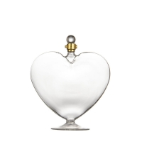 Wholesale Lead Free Screw Cap Heart Shaped Glass Wine Bottles from china suppliers