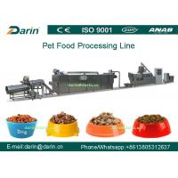 Wholesale Dog Fish Cat Pet Food Extruder equipment / machine , Dry pet food machinery from china suppliers
