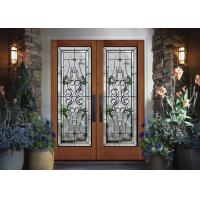 Buy cheap Easy Fingertip Opening Tempered Sliding Glass Door Surface 25.4 Mm Thickness from wholesalers