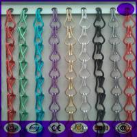Wholesale Decorative Aluminum Chain Fly Screens for door from china suppliers