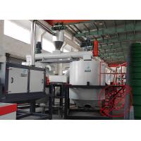 China 1500kg / H Pet Plastic Flakes Washing Machine , Pet Bottle Recycling Line on sale
