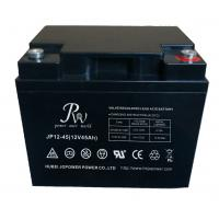 Buy cheap Battery SLA 12V45AH Rechargeable UPS Solar Energy Storage Battery Black from wholesalers