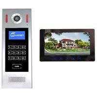 Wholesale 4 +2 wires 10 inch Building Video Door Phone intercom system smart home system video intercom from china suppliers