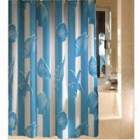 China Shower Curtain, Disposable and Waterproof on sale