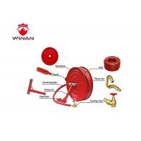 Wholesale Wall Mounted First Aid Fire Hose Reel 25mm Or Customized Inside Dia. from china suppliers