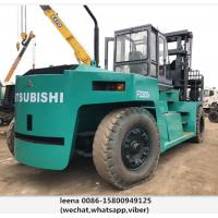 Wholesale Mitsubishi 30ton Used Diesel Powered Forklift 1500mm Fork Length from china suppliers