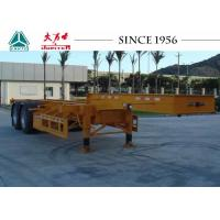 Wholesale 20/40FT Skeletal Trailer Chassis , 2 Axles Gooseneck Container Trailer from china suppliers
