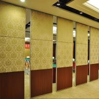 Buy cheap New design banquet hall soundproof MDF material room divider folding movable from wholesalers