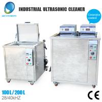 Wholesale Adjustable Thermo Controller Industrial Ultrasonic Cleaner With Stainless Steel Housing Material from china suppliers