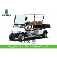 Buy cheap Multipurpose 4 Passenger Club Car Electric Golf Buggy With Rear PP Plastic Cargo from wholesalers