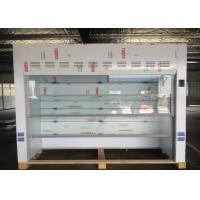 Wholesale Ductless PP Laboratory Fume Cupboards 0.5m/s Air Velocity With Sink / Faucet from china suppliers