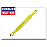 China Eye & Eye Twist Type Flat Web Slings For Lifting , Pallet Lifting Slings With Tuff Tag on sale