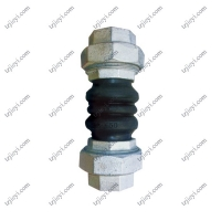 Wholesale Floating flange double spherical flexible bellow threaded rubber expansion joints from china suppliers