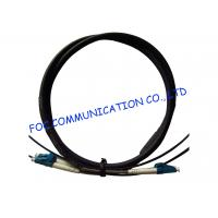 Wholesale FTTA Fiber Optic Patch Cable LC 2 Core With Armored Tube High Tensile Strength from china suppliers