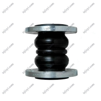 Wholesale DIN ANIS JIS SS304 flange type double sphere rubber expansion joint EPDM NR NBR rubber from china suppliers