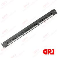 Wholesale UTP 24 Ports Network Cabinet Cat5e Patch Panel with Bracket from china suppliers