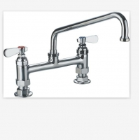 Wholesale Hot And Cold Single Lever Kitchen 9813-12 Commercial Sink Faucet from china suppliers
