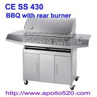 Gas Barbeque with Rear Burner
