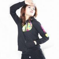 Wholesale Women's CVC Jacket with Applique from china suppliers