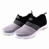 Buy cheap Athletic Shoes with PU Mesh Upper and Rubber Outsole from wholesalers