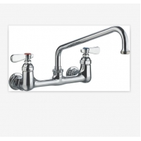 Wholesale 2 Hole Fashion NSF 9814-12 Commercial Sink Faucet from china suppliers