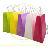 Wholesale Strong Sealing Matt Kraft Paper Bags Large Size Customized Print Accepted from china suppliers